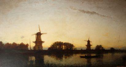 ECOLE HOLLANDAISE, Fin XIXe-Début XXe siècle