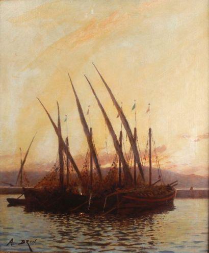 Alexandre BRUN (1853-1941)