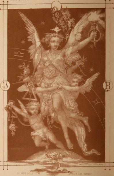 MARCONIS de NEGRE. (J.E.) 1795-1868