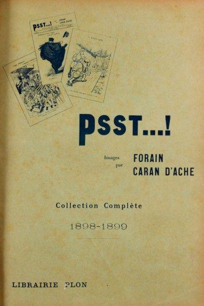 Psst...! Images par FORAIN-CARAN D'ACHE....