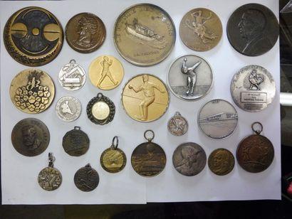 16 MEDAILLES principales sur 23, bronze dont...