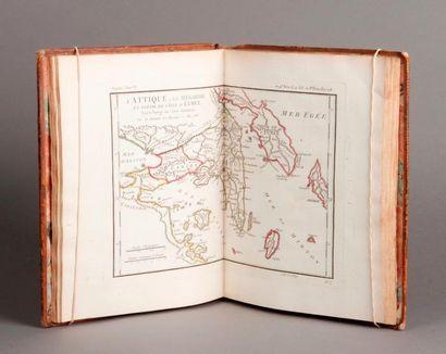 [Atlas d'ANACHARSIS] Recueil de cartes géographiques....