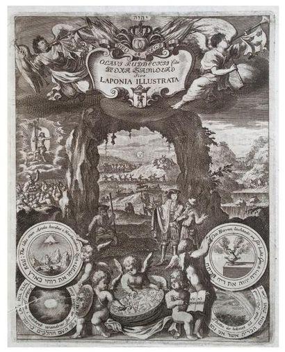 [Laponie/Hébraïca]. RUDBECKII (Olavi) Filii...