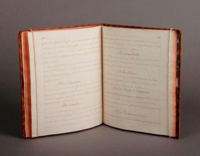 [ARTILLERIE] Important Manuscrit [vers 1770];...