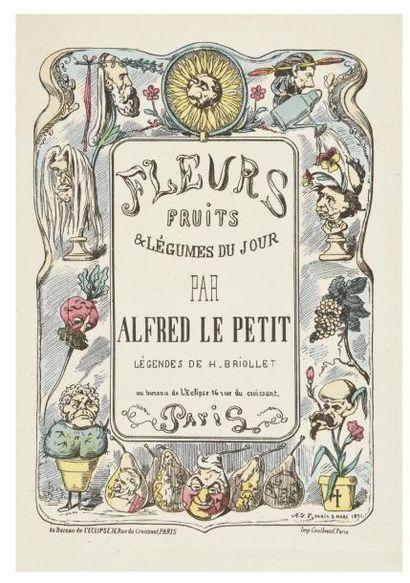[Caricature]. LE PETIT (Alfred) et BRIOLLET...