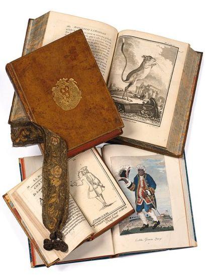 MARQUE-PAGE de la fin du XVIIe - début du...