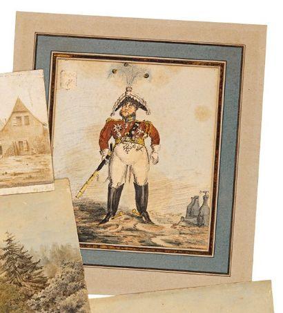 CARICATURE du début du XIXe siècle