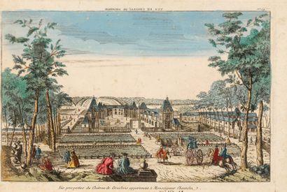 GROSBOIS (Château de). Vue perspective du...
