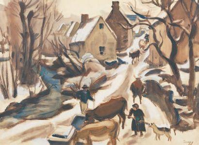 Jules-Emile ZINGG (1882-1942)