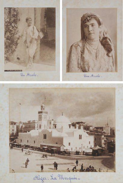 France-Algiers 1889. Ouvrage ancien contenant...