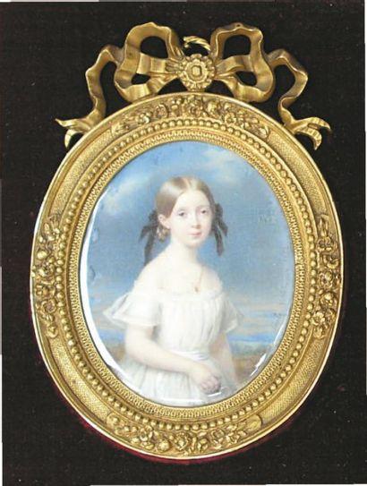 Cécile VILLENEUVE, née Colombet (Paris 1824-1901)