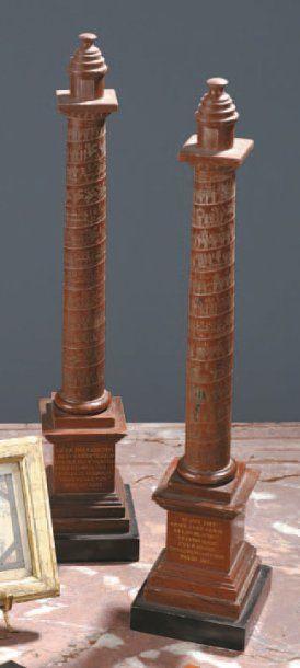 Colonne de Trajan et colonne de Marc Aurèle...