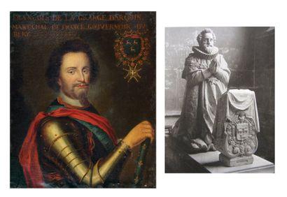 École FRANCAISE du XVIIe siècle Portrait de François de La Grange d'Arquin, seigneur...