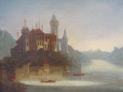 École ALLEMANDE du XIXe SIECLE, peutêtre Johann Wilhelm JANKOWSKY (1825-1870)