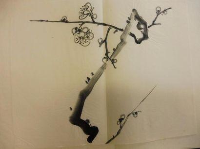 ECOLE JAPONNAISE CONTEMPORAINE ''cerisier...