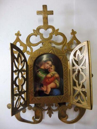 PETIT ORATOIRE Vierge à la chaise de RAPHAEL...