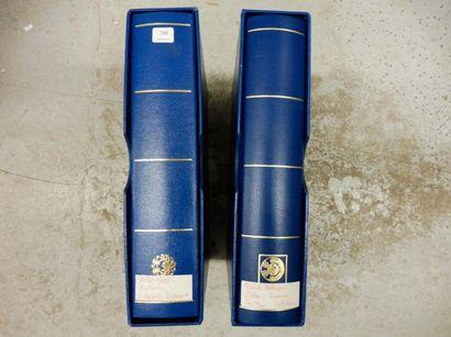 TIMBRE- POSTE collection dans 2 albums -...