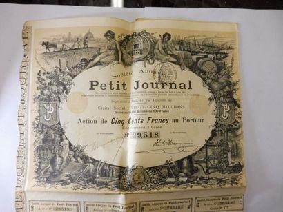 ACTION : PETIT JOURNAL action N° 29518 sur...