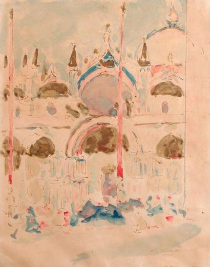 Ecole FRANCAISE, début XXe siècle