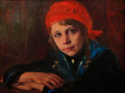 Entourage de Philippe MALIAVINE (1869-1940)...
