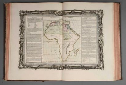 [Atlas]. BUY de MORNAS. Atlas historique et géographique, dédié à Monsieur le Président...