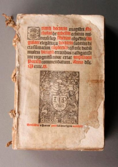 ORBELLIS (Nicolas de, philosophe et théologien)