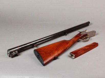 FUSIL de chasse à canons juxtaposés calibre...