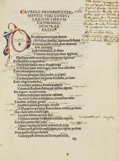 PRUDENCE (Aurelius Clemens Prudentius)