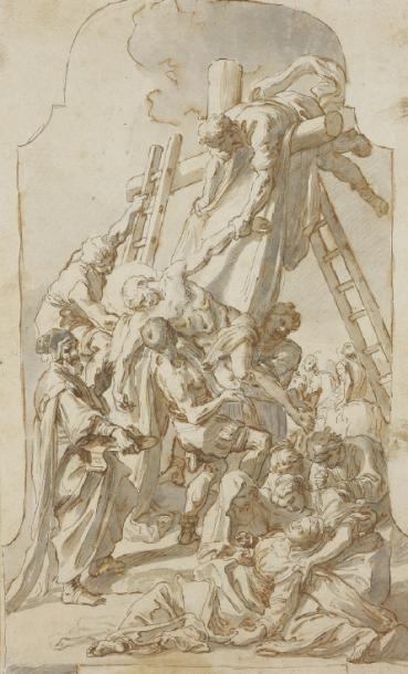 Francesco SOLIMENA (Canale di Serino 1657-Barra 1747), Attribué à