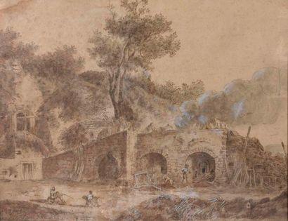Hubert ROBERT (1733-1808), École de
