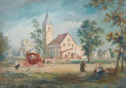 ECOLE FRANÇAISE, fin XVIIIe-début XIXe siècle