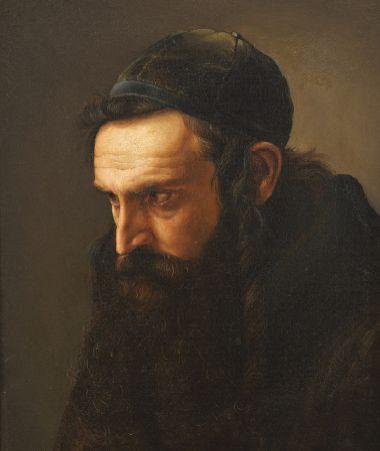 ECOLE AUSTRO-HONGROISE, Dernier tiers du XIXe siècle<br/>Attribué à Isidor KAUFMANN (1853-1921)