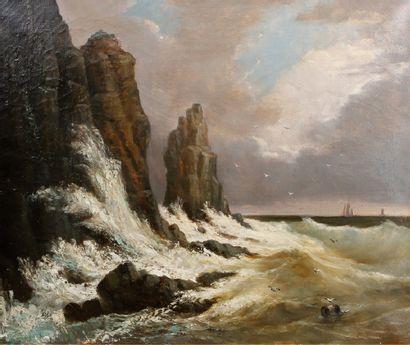 ÉCOLE FRANÇAISE, deuxième moitié du XIXe siècle