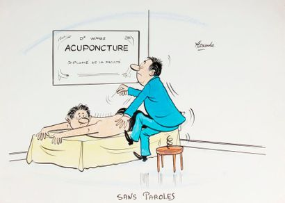 ALEXANDRE. «Acuponcture. Sans Paroles»....