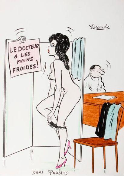 ALEXANDRE. «Le Docteur a les mains froides....