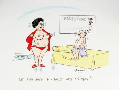 ALEXANDRE. «Massage. Le body-body a l'air...