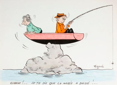ALEXANDRE. «Eugène, je te dis que la marée...