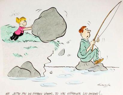 ALEXANDRE. «Ne jette pas de pierres voyons,...