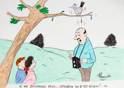 ALEXANDRE. «Ne bougeons plus, attention...