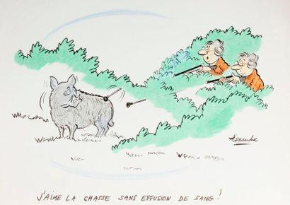 ALEXANDRE. «J'aime la chasse sans effusion...