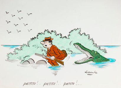 ALEXANDRE. «Petits! petits! petits!»...