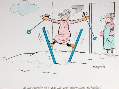 ALEXANDRE. «Je ne pensais pas que le ski...