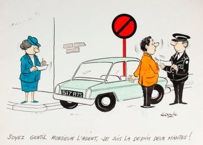 ALEXANDRE. «Soyez gentil Monsieur l'agent,...