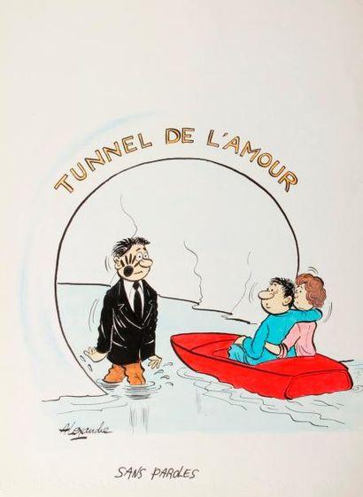 ALEXANDRE. «Tunnel de l'Amour. Sans paroles»....