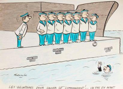 ALEXANDRE. «Les Volontaires pour sauver...