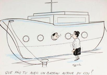 ALEXANDRE. «Que fais-tu avec un bateau autour...