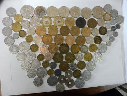 Lot de pièces françaises