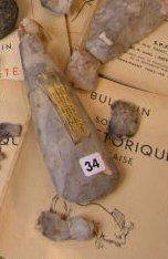 Hâche polie provenant de « La Beau Vraigue...