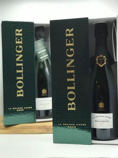2 Bouteilles Champagne Bollinger