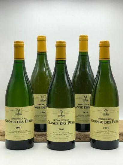 1 bouteille Grange des Pères (blanc) 2007...